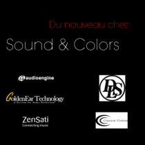 Nouvelles marques distribuées par Sound & Colors